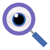 Magnifying glass | Therapy Website Visitors